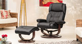 Abbingdon Swivel Chair Black