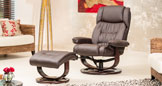 Abbingdon Swivel Chair Brown