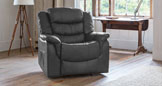 Bramwell electric riser recliner with massage and heat grey