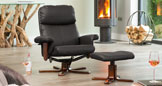 Colwyn Massage with Heat Swivel Black