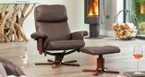 Colwyn Massage with Heat Swivel Brown