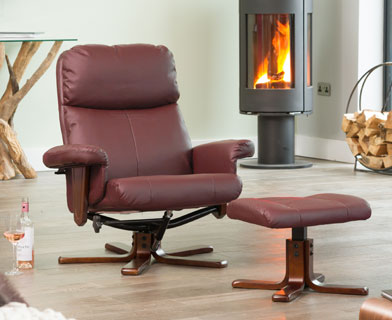 Colwyn Massage with Heat Swivel Chair