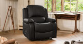 Emsworth reclining armchair black