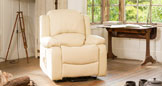Emsworth reclining armchair cream