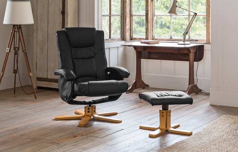 Fenbridge Massage with Heat Swivel Chair