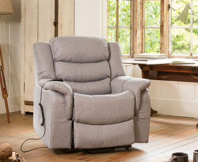 Hadleigh Massage and Heat Riser Recliner