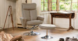 Henley Swivel Chair Beige