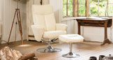 Henley Swivel Chair Cream