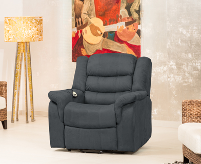 Lewiston armchair charcoal