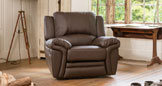Lynmouth armchair brown