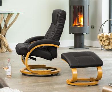 Melrose Massage and Heat Swivel Chair