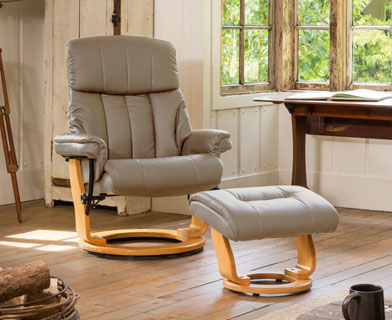 Oxleigh Massage with Heat Swivel Chair