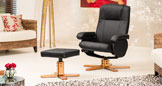 Rosslyn Swivel Chair Black
