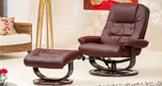 Somerton Massage With Heat Swivel Chair Burgundy