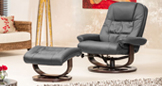 Somerton Massage With Heat Swivel Chair Grey