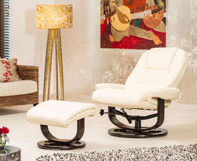 Somerton Massage and Heat Swivel Chair