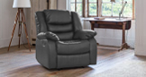 Walpole recliner grey